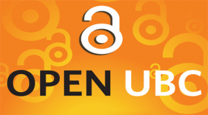 Logo for Open UBC event