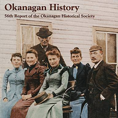 Okanagan Historical Society annual report cover illustration. Please credit: Okanagan Historical Society/UBC Library