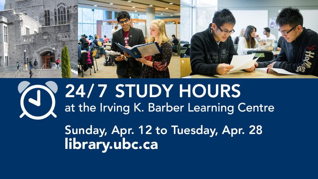 IKBLC Study Hours 24/7