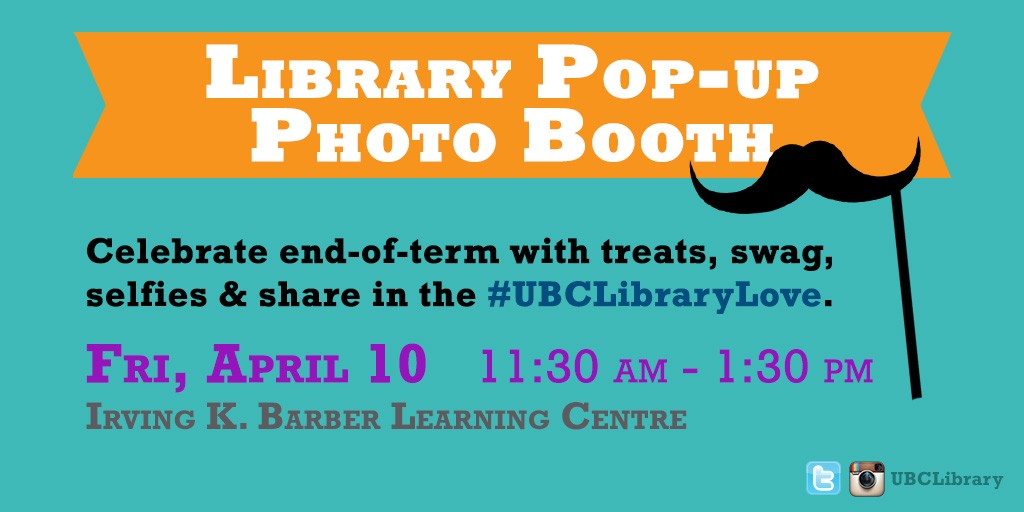 #UBClibraryLove