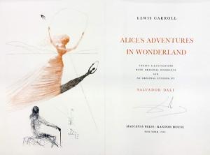 Dali illustrated Alice book