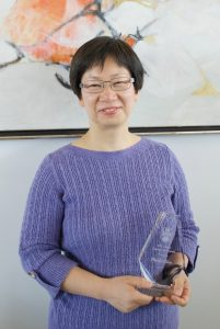 Phoebe Chow, Unsung Hero Award winner