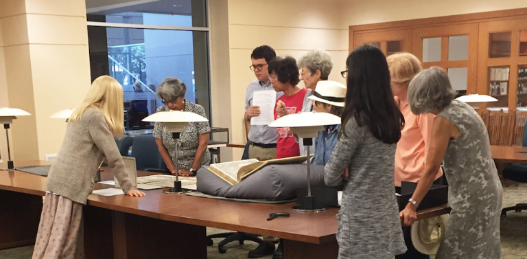 Rare Book and Special Collections Tour