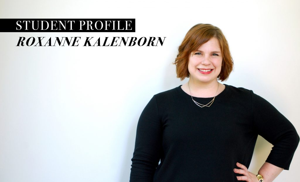 Student Profile on Roxanne Kalenborn