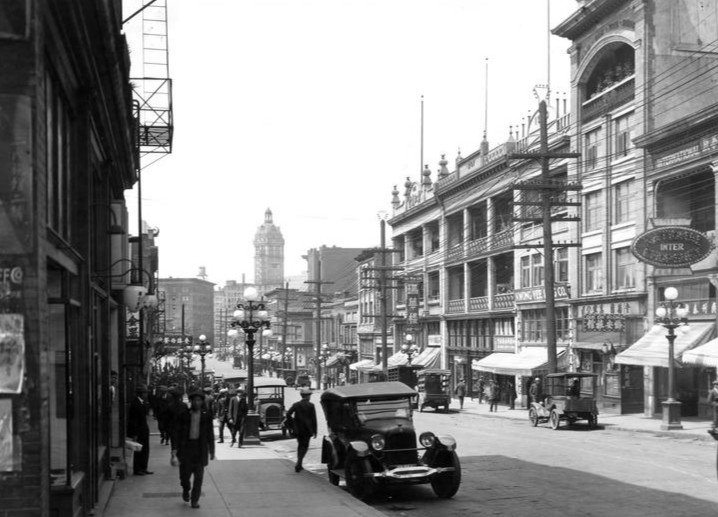 Pender Street, Vancouver. 1925