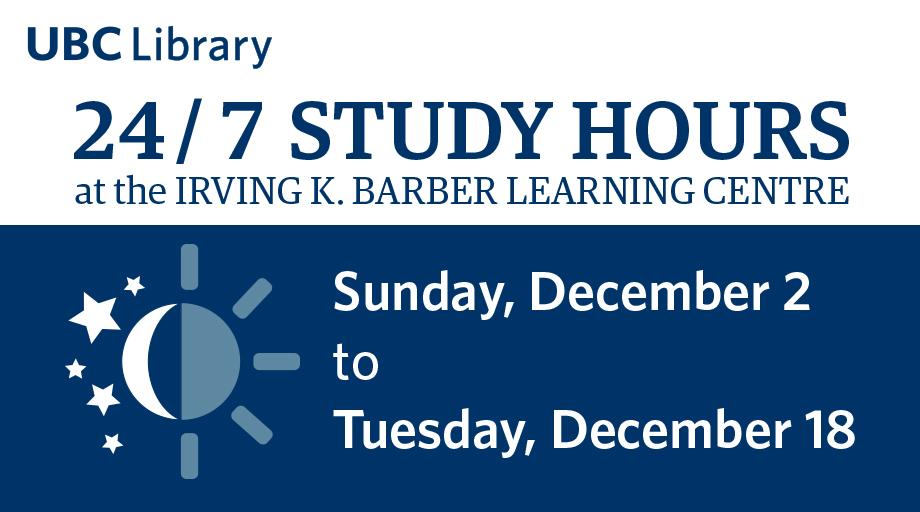 IKBLC 24/7 Study Hours