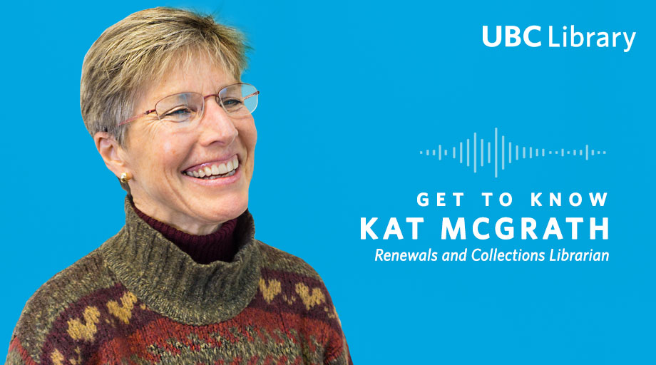 Kat McGrath Library employee profile