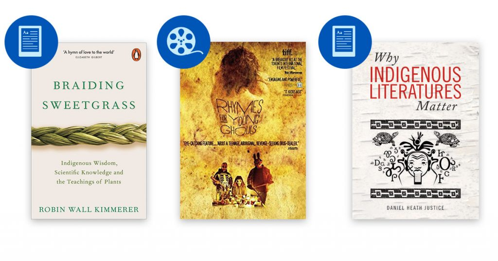 UBC Library Indigenous literature and film recommendations
